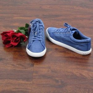 Rocket Dog Shoes - Rocket Dog Blue Canvas Sneakers Casual Basic NWT